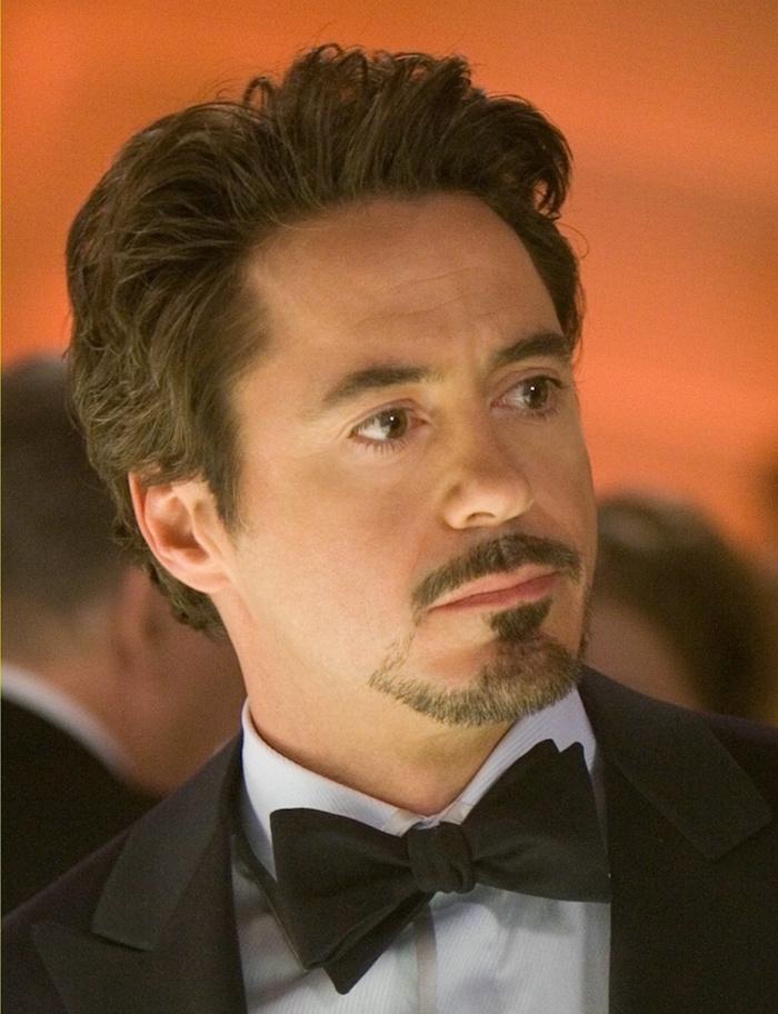 modele de barbe homme style bouc moustache