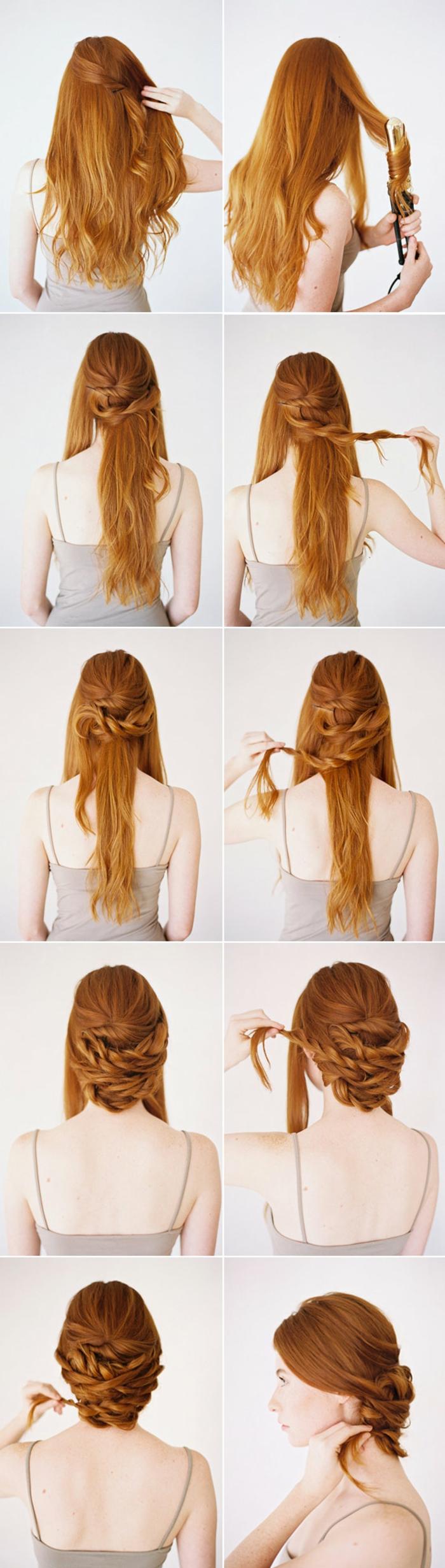 Voir exemple de coiffure mariée cheveux courts photos image comment faire une coiffure de mariage pas à pas