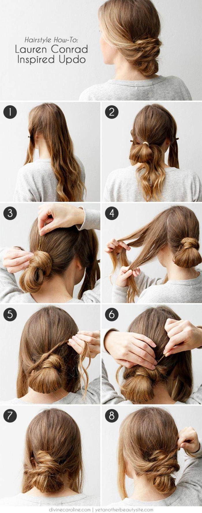 Photo coiffure mariée cheveux courts coiffure chignon mariée tutoriel simple