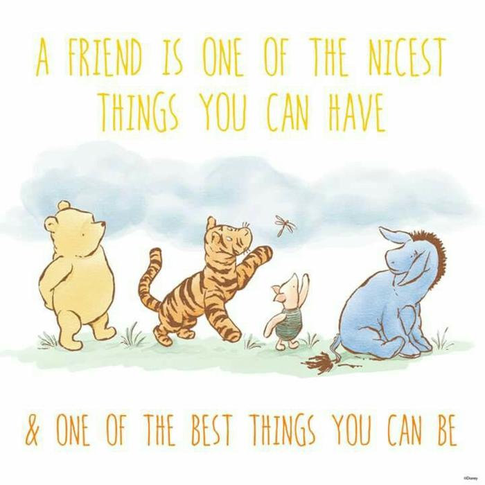 Photo de carte de voeux pour meilleure amie pour la vie photos meilleures amies winnie the pooh