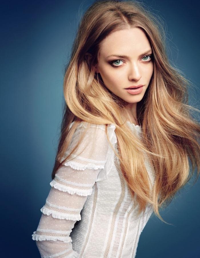 cheveux chatain clair, coloration blonde sur cheveux châtain clair aux reflets blond clair et blond miel