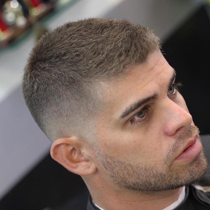modele coiffure courte degrader homme cheveux degrade