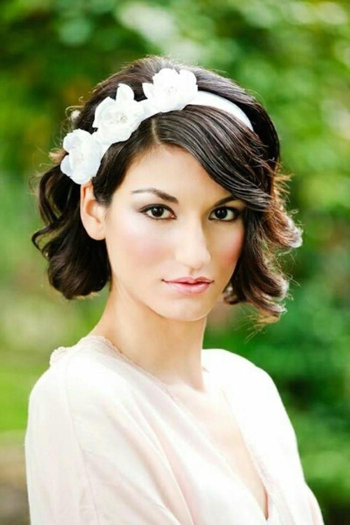 Amour et mariage détails quelle coiffure pour mariage idée diadème