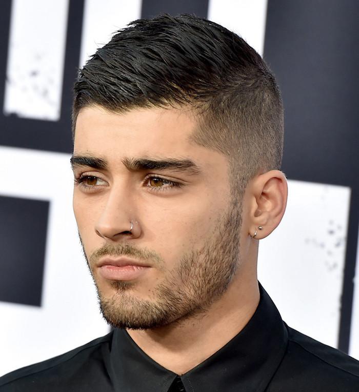 coupe cheveux court homme dégradé a la mode tendance