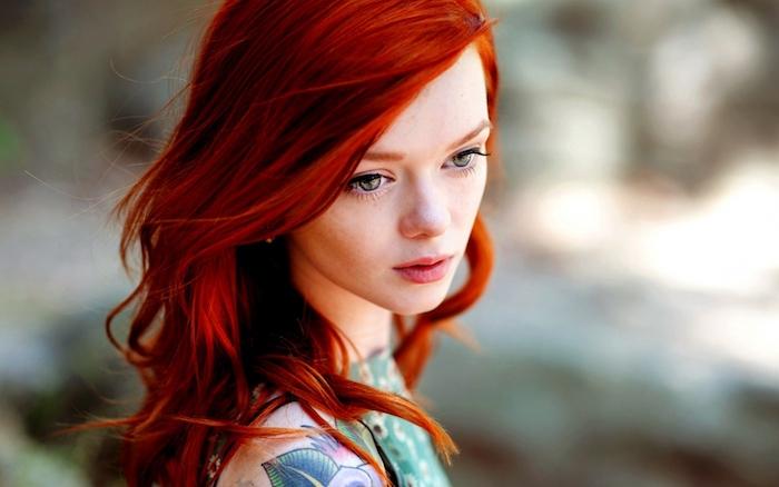 Coloration rousse tendance – plein de nuances flamboyantes pour un look  canon ...