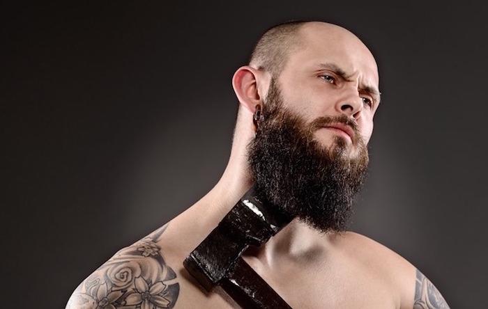tutoriel comment se tailler la barbe longue homme
