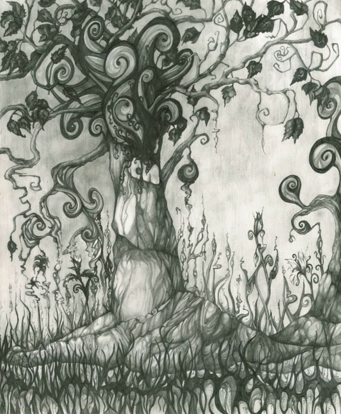 Arbre dessins dessin d arbre mort dessin arbre nu dessin complexe cool idée abstrait dessin noir et blanc