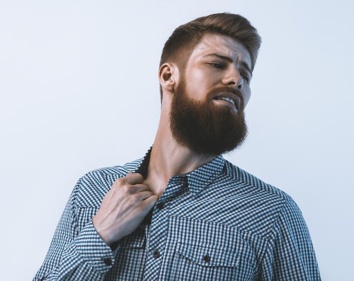 comment tailler barbe taillée longue épaisse de hipster