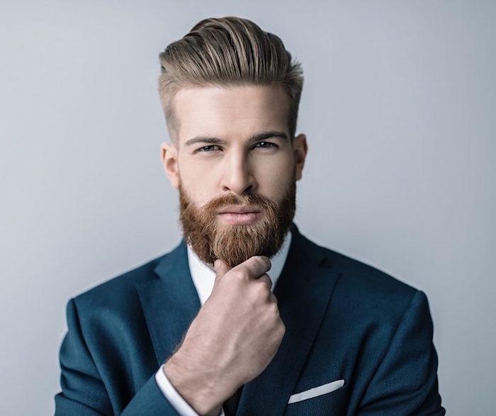 comment entretenir barbe hipster et coiffure pompadour