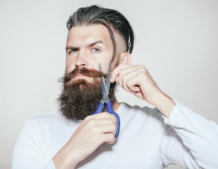comment tailler sa barbe longue hipster et coupe pompadour