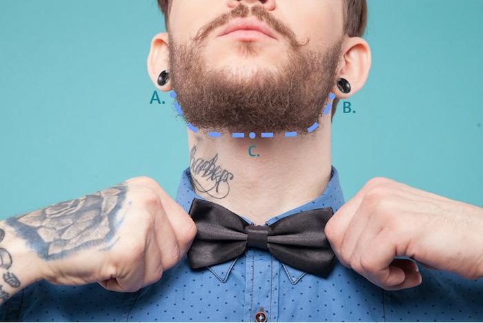 comment se tailler la barbe longue entretenir raser cou hipster