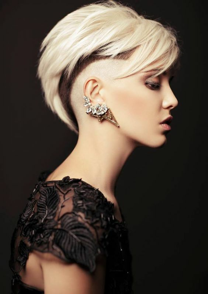 1001 id es pour des coupes courtes les coiffures pour for Coupe de cheveux femme a la mode 2015
