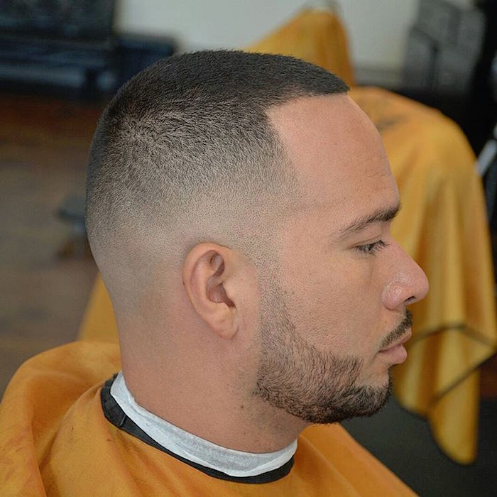 Coupe homme rase degrade