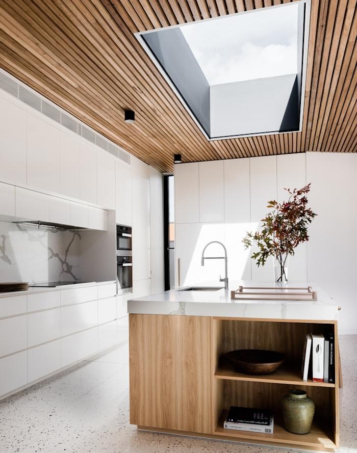 cuisine moderne marbre excellent marbre pour cuisine on decoration d interieur moderne design. Black Bedroom Furniture Sets. Home Design Ideas