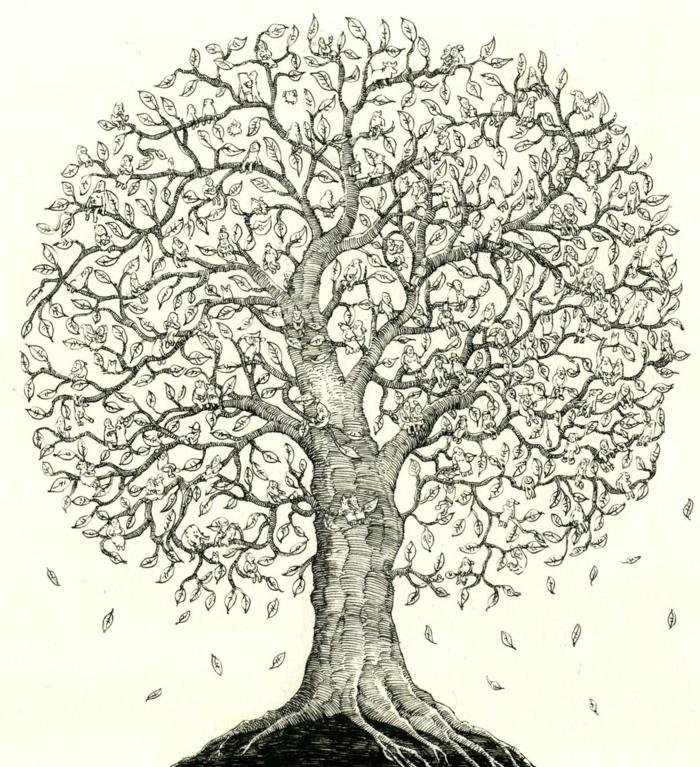 Apprendre le dessin pas a pas dessin de feuille d arbre couronne
