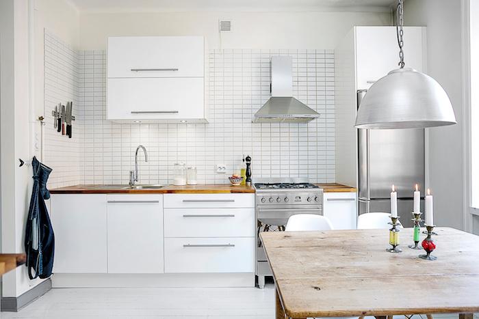 Cuisine Moderne Blanche Et Noire : Conseils et idées pour aménager une cuisine moderne