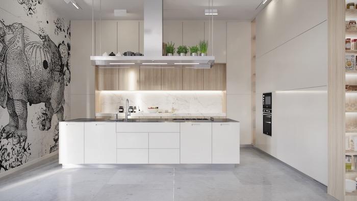 cuisine blanche sol gris gris clair dijon salon best images about dcouvrir