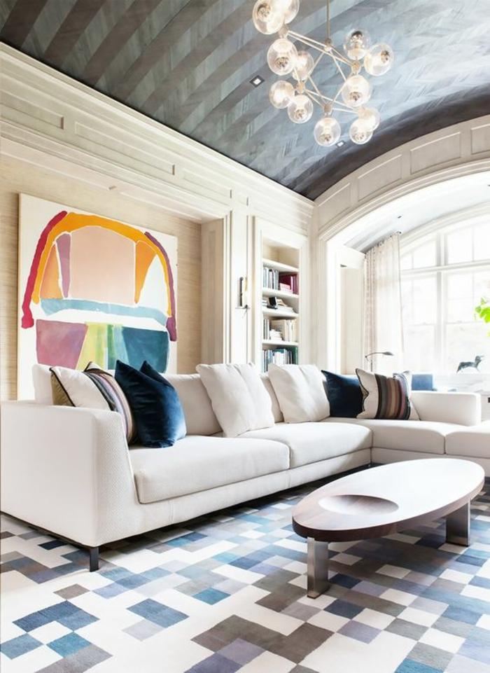 Carrelage salon design amazing intrieur minimaliste avec for Carrelage salon design