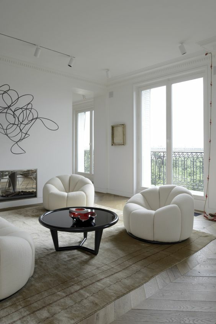 1001 id es pour un salon moderne de luxe comment rendre for Style appartement moderne