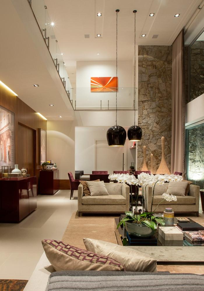 1001 id es pour un salon moderne de luxe comment rendre for Meuble de salon sejour