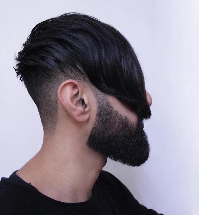 tailler sa barbe de hipster coupe hipster undercut comment entretenie une barbe
