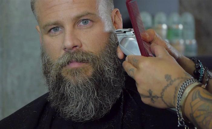 comment bien tailler sa barbe sculptée barbes longues hipster