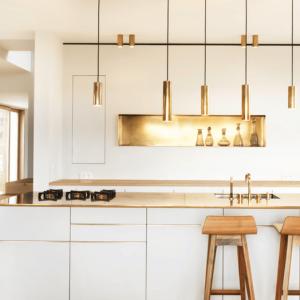 Comment aménager une cuisine moderne blanche - 120 exemples déco chic et un peu trop stylés