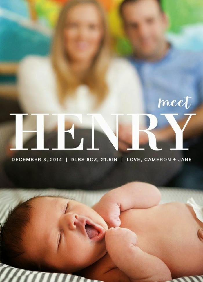 faire part de naissance pas cher, le bébé précieux photographié, les parents et la date de naissance