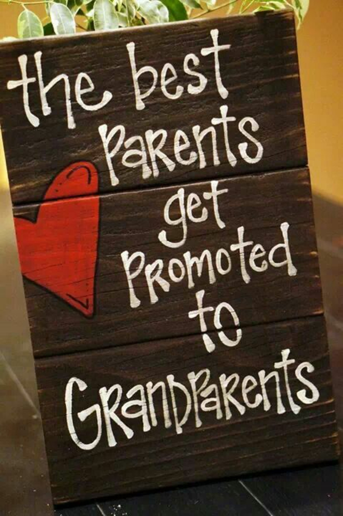 faire part naissance mixte, un joli annonce pour dire à ses grands-parents qu'ils sont aussi des grands-parents