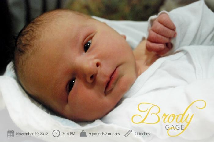 faire part pas cher, la photo de son petit trésor et les données de sa naissance
