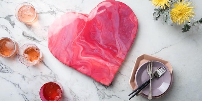 1001 id es et recettes originales comment faire un for Glacage miroir rose