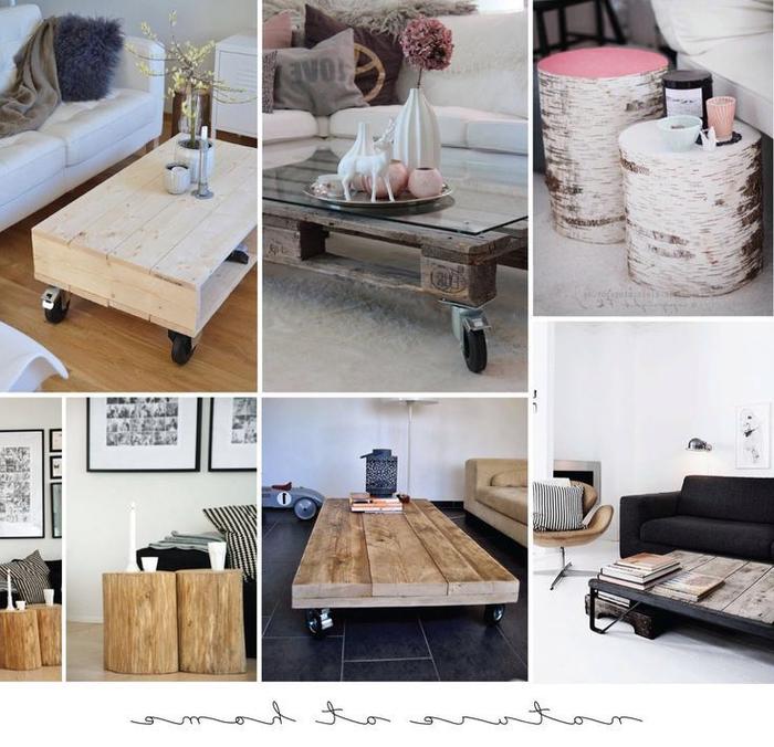 des meubles palettes à fabriquer soi même pour une déco d'intérieur qui mixe la modernité et l'esprit récup