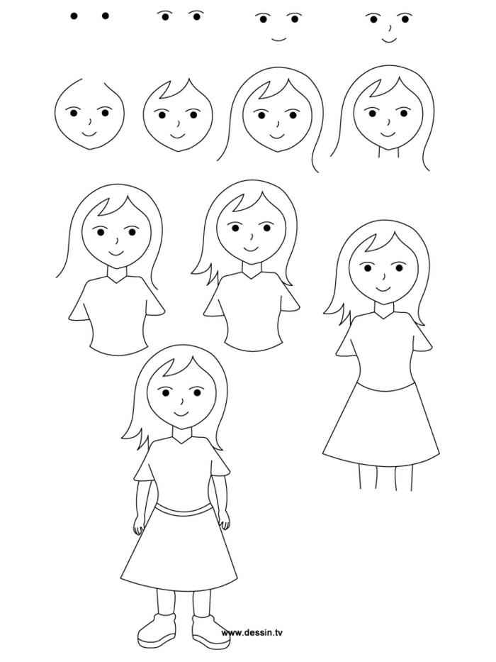Ravissante image meilleure amie images de meilleures amies comment dessiner une fille simple