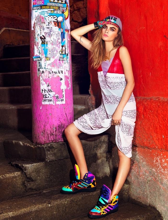 fond d'écran pour fille ado swag, comment être swag pour fille avec baskets en couleurs et cheveux longs