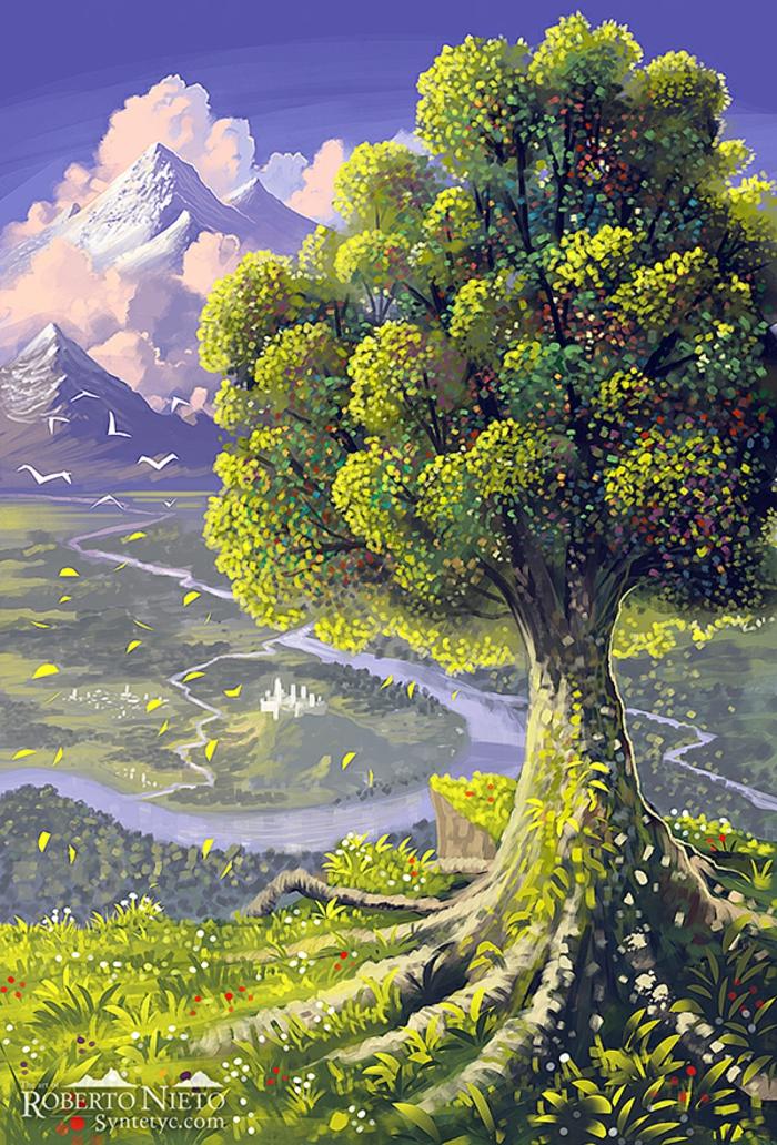 1001   id u00e9es pour dessiner un arbre merveilleux avec exemples