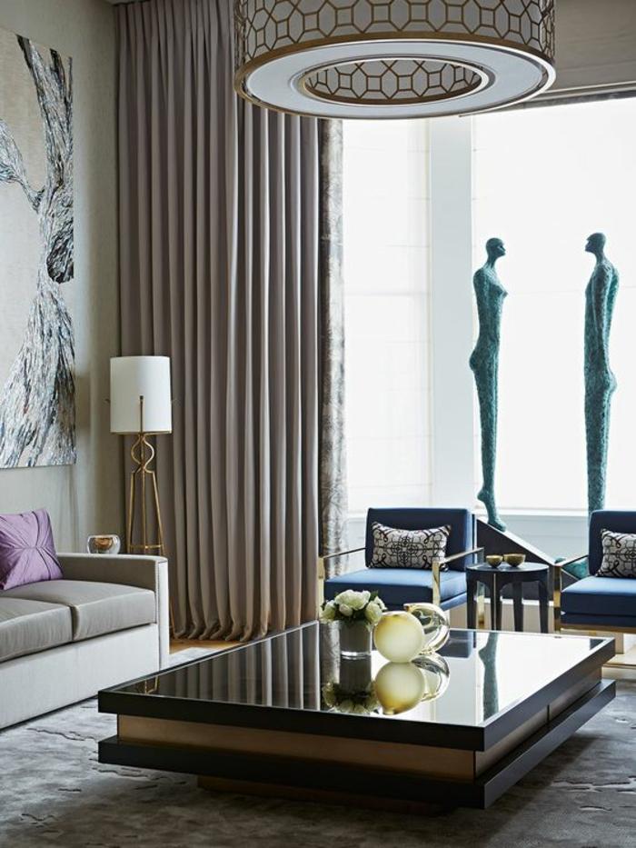 1001 Idees Pour Un Salon Moderne De Luxe Comment Rendre La Piece Resplendissante Et Pleine D Eclat