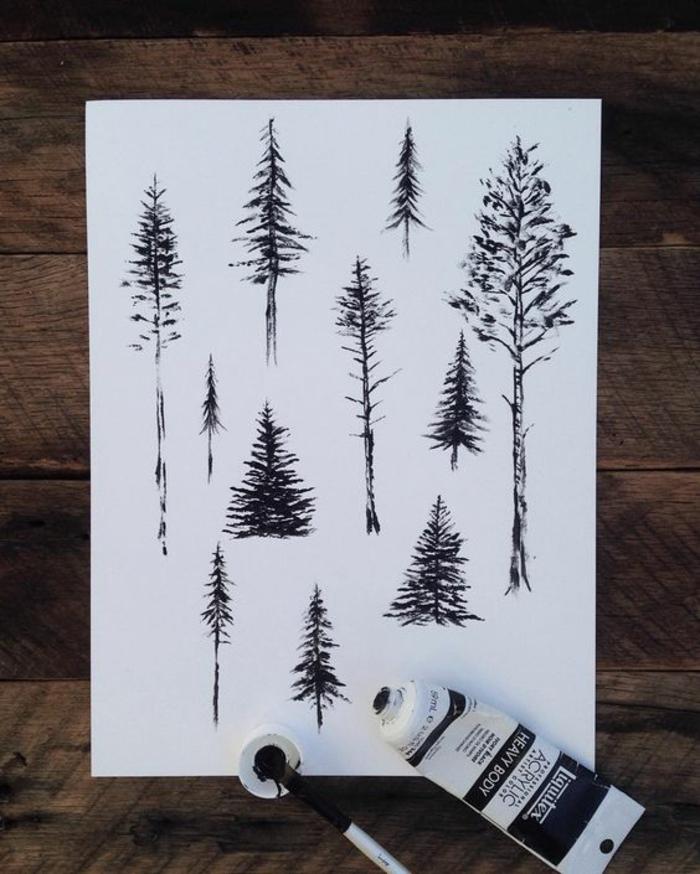 Apprendre le dessin pas a pas dessin de feuille d arbre de noel