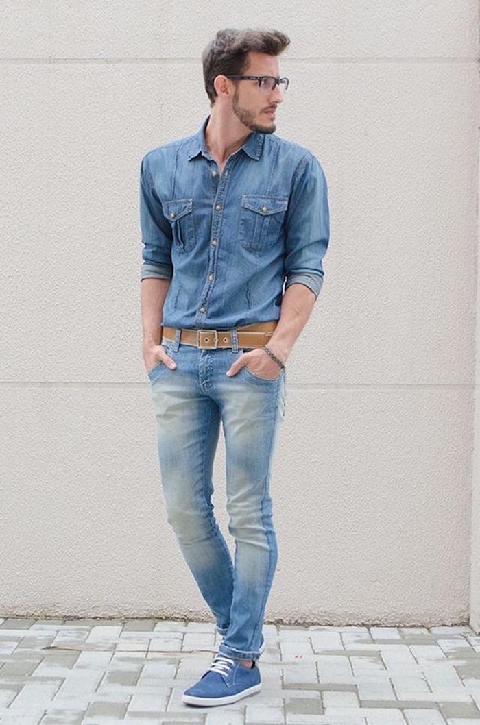 aae034330b541 ▷ 1001+ idées   Tatouage Rose – comment porter une chemise en jean ...