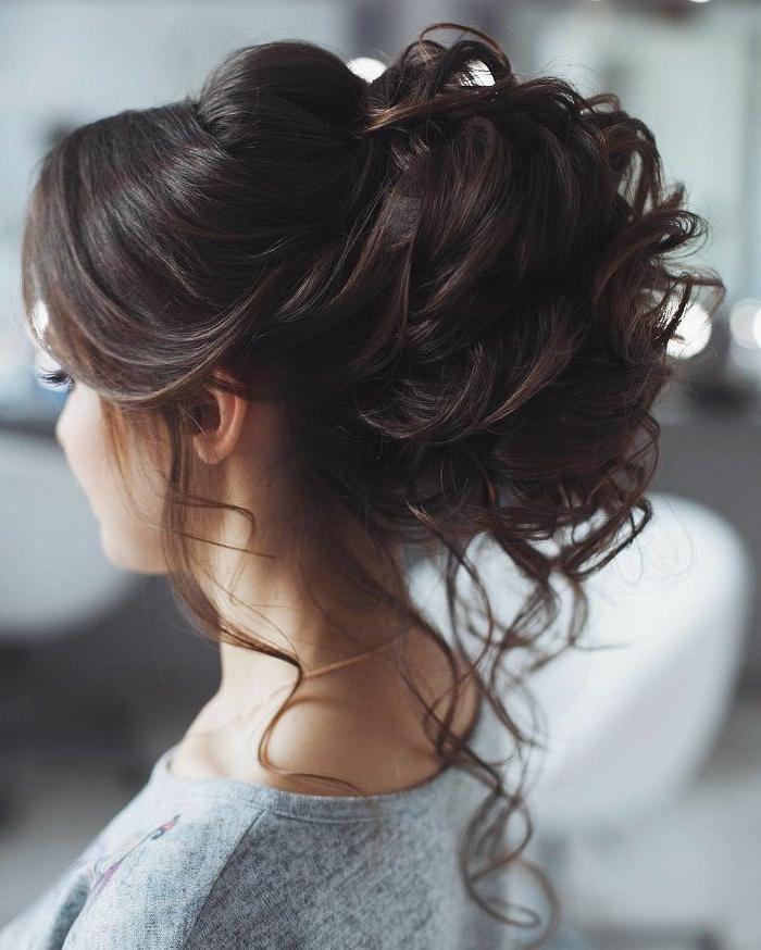 Coiffure mariage cheveux detaches affordable coiffure - Coiffure mariage detache ...