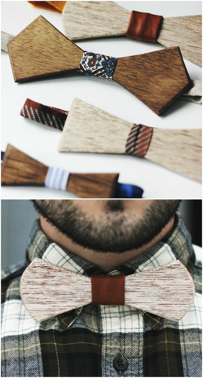 cadeau original pour les hommes qui apprécie le chic des noeuds papillon mais n'ont pas peur de rompre avec le codes vestimentaire strict