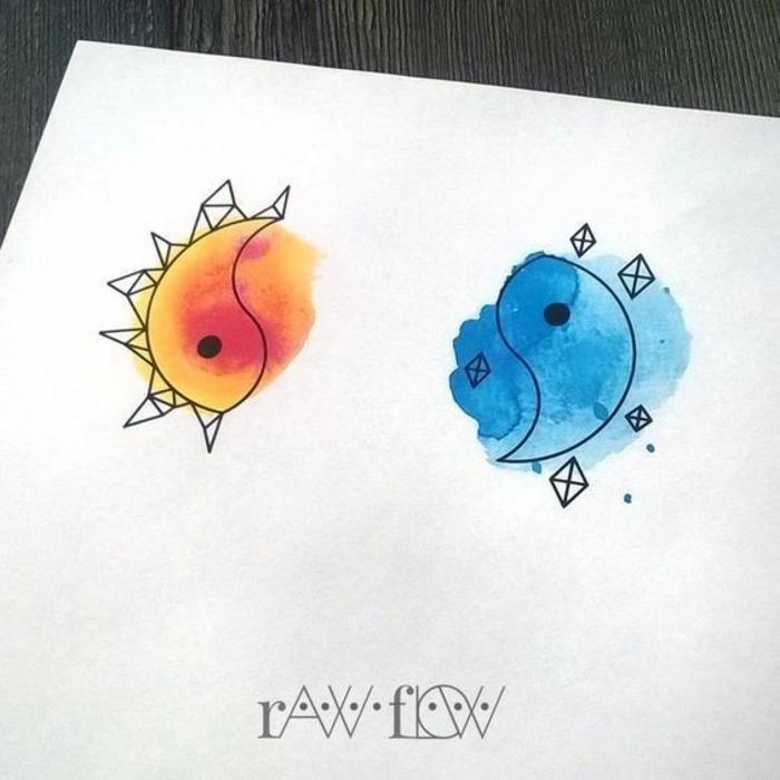 La plus belle image pour sa meilleure amie idée dessin adorable in et yann