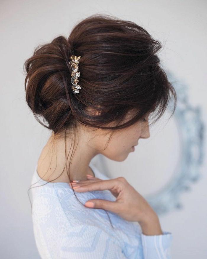 Coiffure mariee cheveux courts et fins