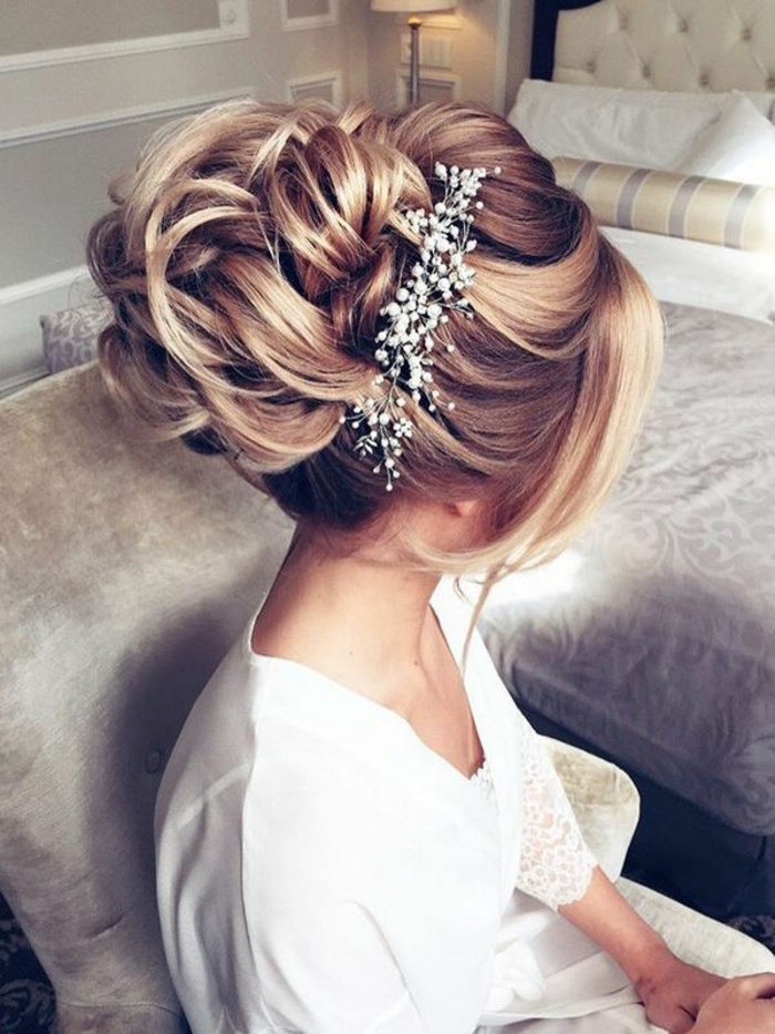 Coiffure mariage tresse coiffure mariage cheveux long coiffure mariage