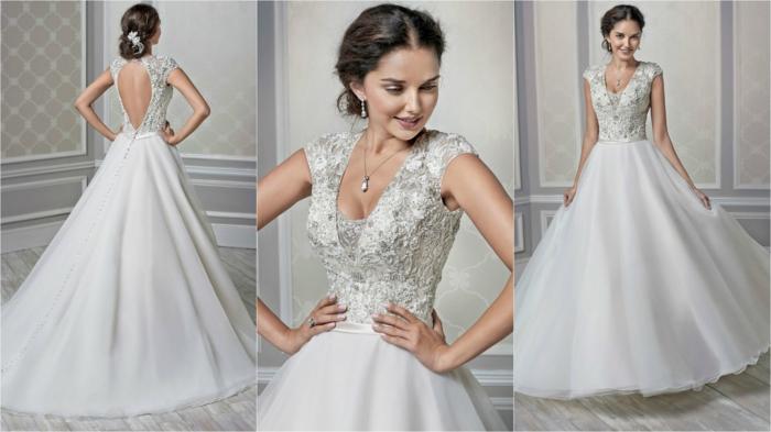 1001 variantes de la robe de mari e princesse propositions pour les mari es futures. Black Bedroom Furniture Sets. Home Design Ideas