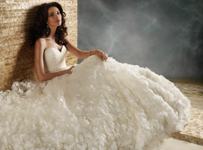 robe princesse disney, jupe volumineuse féérique, bustier, silhouette de princesse