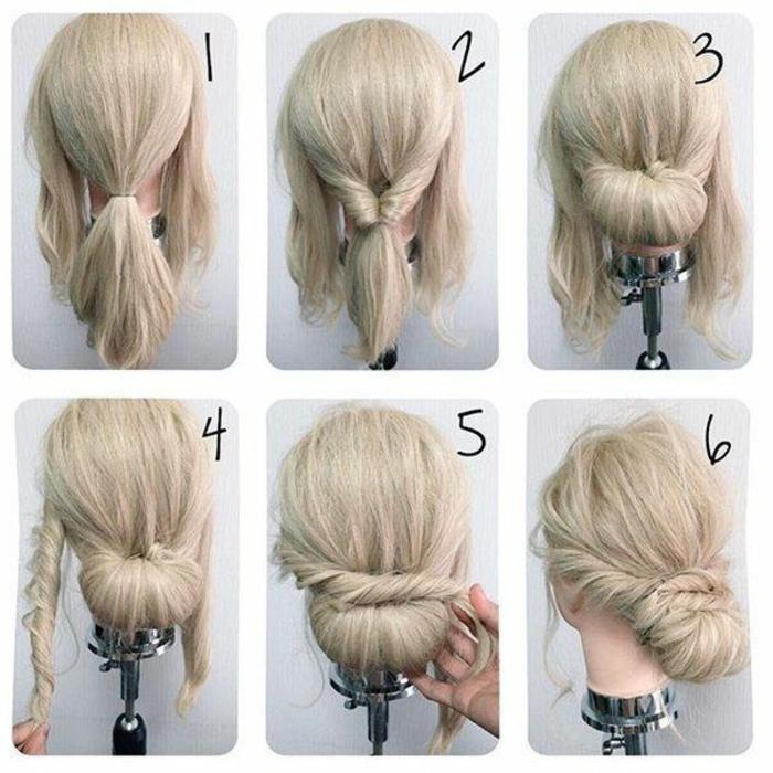 Mariée coiffure cheveux longs coiffure de mariée cheveux longs
