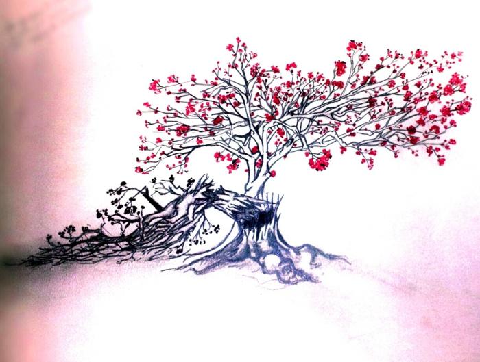 Quel arbre comment dessiner un arbre mort dessin d un chêne metaphore arbre mort et vivant
