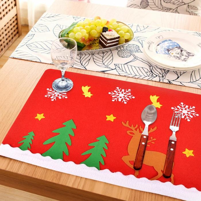 Marque place noël activité décoration noel à faire soi meme table