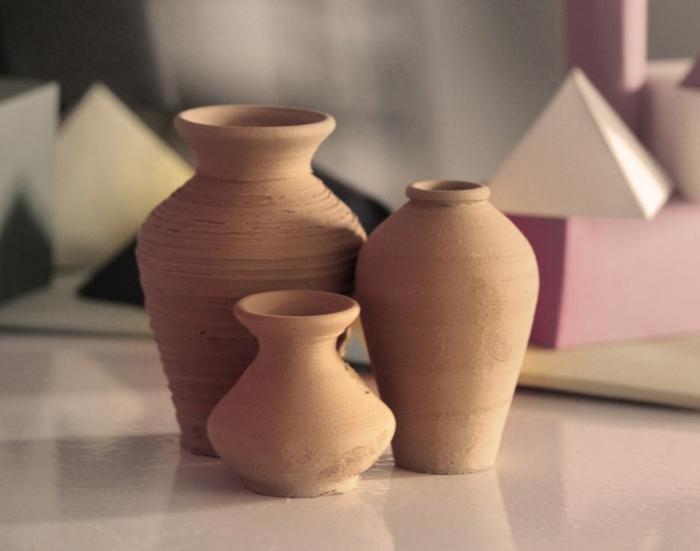 Activités créatives activité manuelle rentrée scolaire poterie faire des vases diy