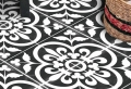 Le sol vinyle imitation carreau de ciment – les sols vintage remis au goût du jour